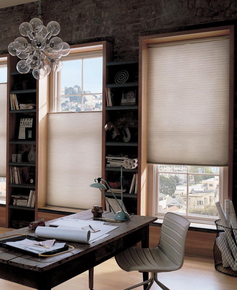Superbe Home Office Window Treatments