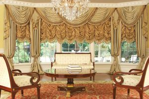 luxury curtains austrian shades