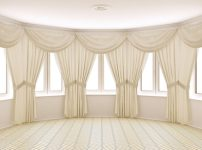 marrying window treatments