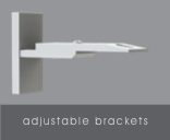Adjustable Brackets for Automated Shades