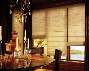 Wowen Wood Shades Dining Room